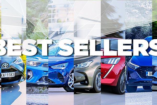 Τα TOP 10 αυτοκίνητα της ελληνικής αγοράς