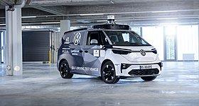 VW ID. BUZZ AD: Tο concept car της Volkswagen για αυτόνομη οδήγηση
