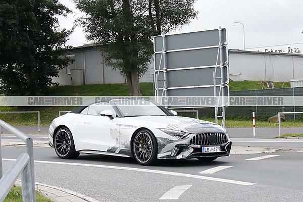 Σχεδόν έτοιμη η νέα Mercedes-AMG SL 63