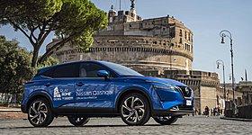 Το Nissan Qashqai στον Μαραθώνιο της Ρώμης