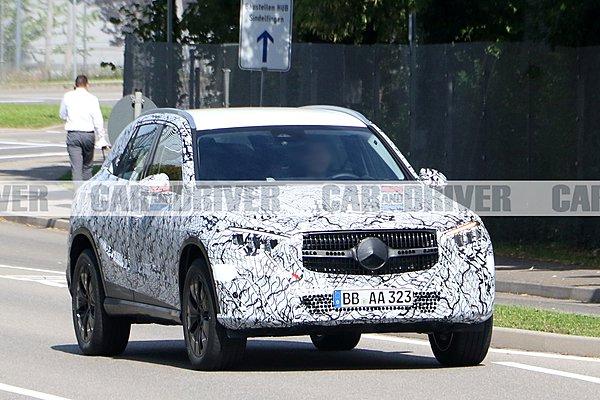 Νέες φωτογραφίες της Mercedes GLC!