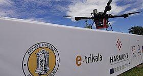 Παράδοση φαρμάκων με drones στα Τρίκαλα!