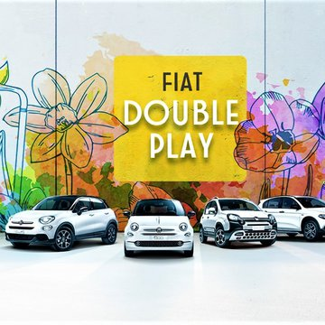 Fiat Double Play: To νέο πρόγραμμα απόκτησης αυτοκινήτου που σε… κακομαθαίνει!