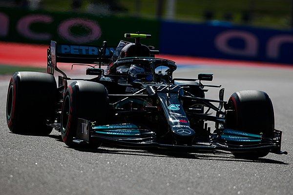 GP Ρωσίας - FP2: Bottas και 1-2 για τη Mercedes