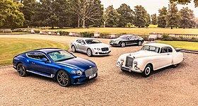 Επτά δεκαετίες Bentley Design Center με αναδρομή στο παρελθόν