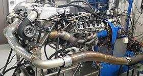 Ακούστε έναν V10 κινητήρα της Lamborghini απόδοσης 2.300 ίππων στο δυναμόμετρο