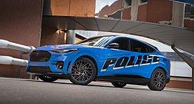 Η Mustang Mach-E ετοιμάζεται για περιπολικό της αστυνομίας του Michigan