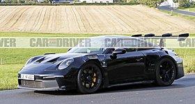 Νέες φωτογραφίες της Porsche 911 GT3 RS