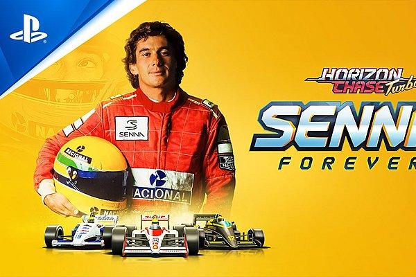 Senna Forever: Ο μεγάλος Βραζιλιάνος στο παιχνίδι Horizon Chase Turbo