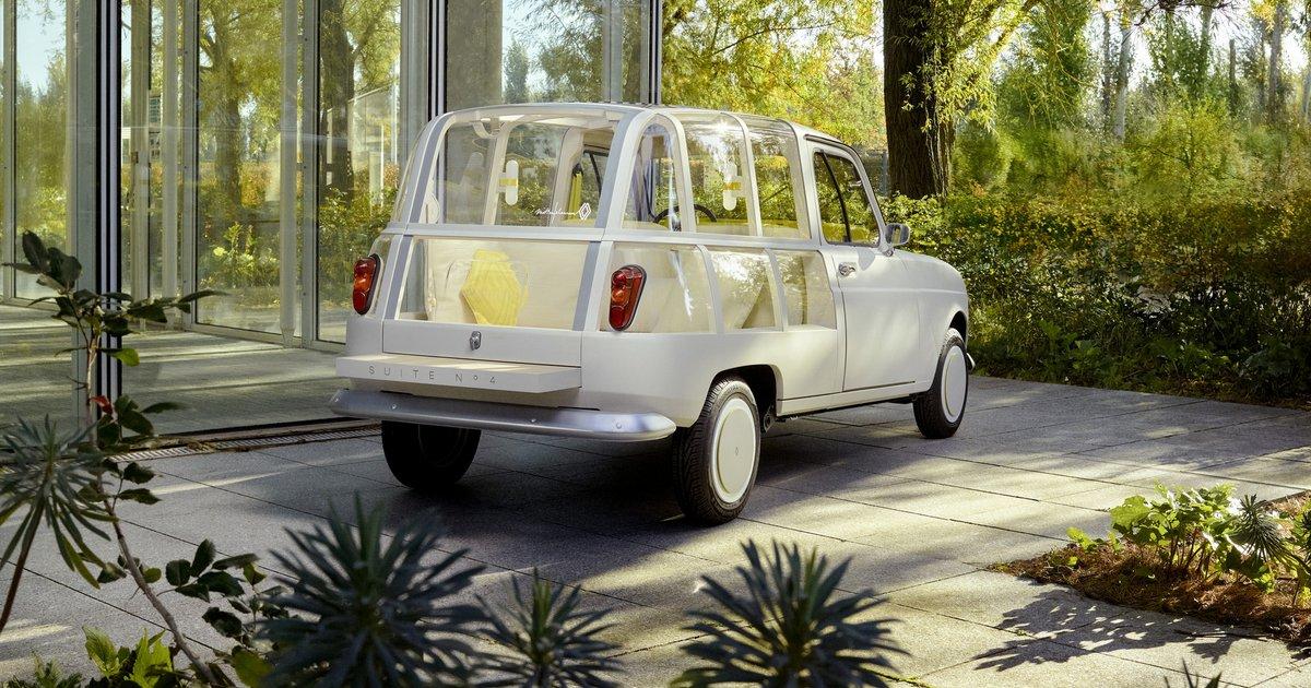 Suite N°4 Renault 4L: Ένα ηλεκτρικό concept-φόρος τιμής