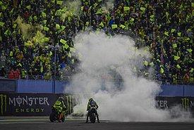 Το «αντίο» του Rossi στο GP του San Marino